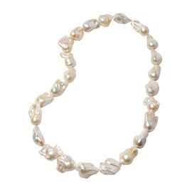 Extremely Rare AAA White Baroque Pearl Necklace (Size 30)