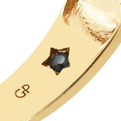 GP Ethiopian Welo Opal (Rnd), Rhodolite Garnet, Boi Ploi Black Spinel and Multi Gemstone Ring in 14K Gold Overlay Sterling Silver 1.750 Ct. Silver wt 9.22 Gms.