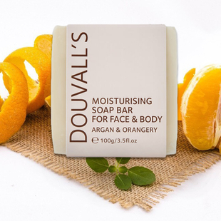 Douvalls Argan and Orangery Soap - 100g
