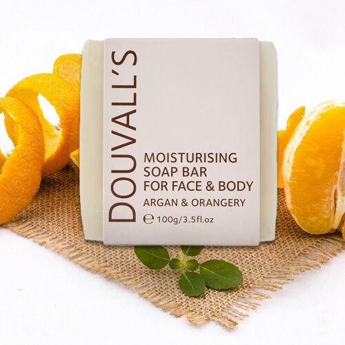Douvalls Argan and Orangery Soap - 100g
