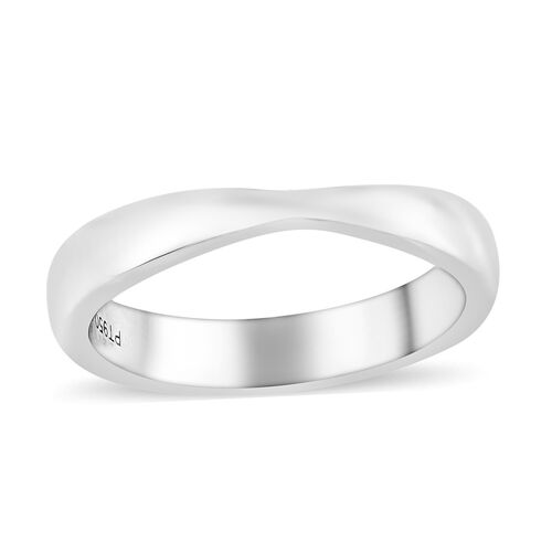 RHAPSODY 950 Platinum Band Ring