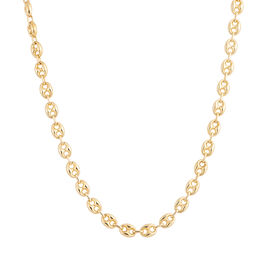 9K Yellow Gold Mariner Necklace (Size 20 with 1.5 inch Extender), Gold wt 22.01 Gms.