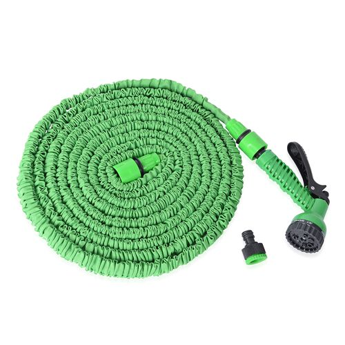 Expandable Garden Magic Water Hose Pipe (50 ft and expand to 150 ft equal to 45 meter)  - Green