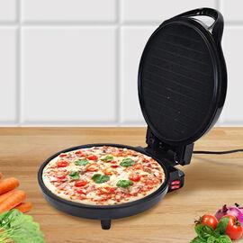 HOMESMART Multifunctional Ergonomic Pattern Electric Pizza Maker with Power & Ready Light Indicator