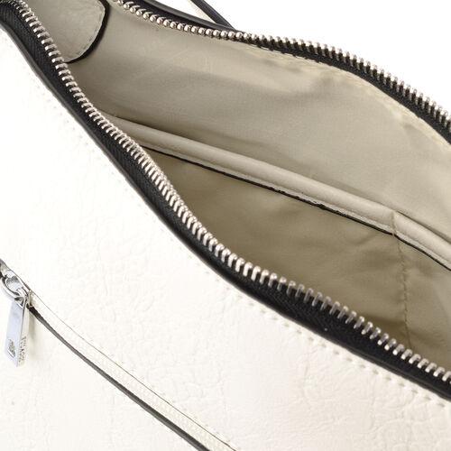 Bulaggi Collection - Ella Crossbody Bag (Size 22x24x7 Cm) - White