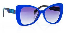 Italia Independent Cat Eye Sunglasses in Blue Colour