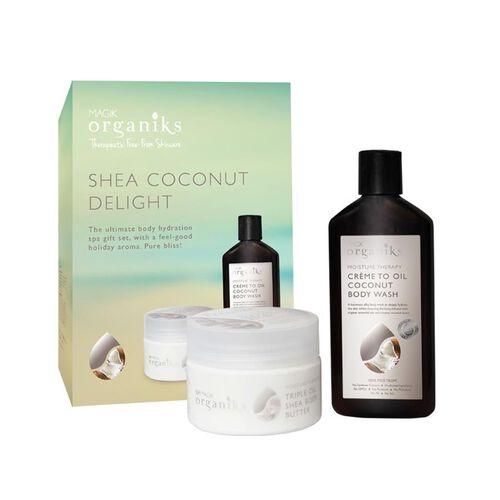 Coconut Set, Sheer body wash - 300ml, Body Butter- 250ml