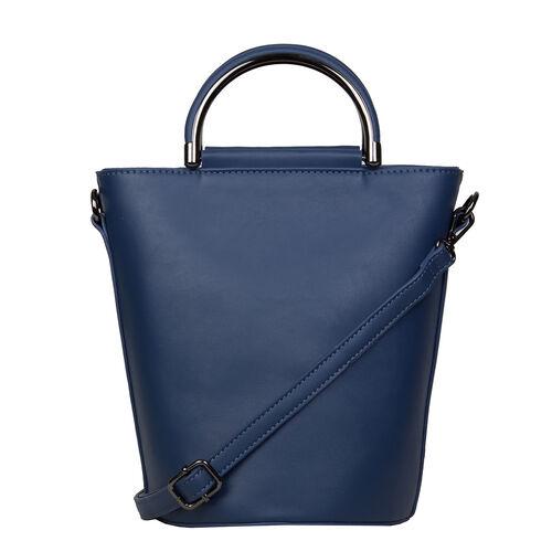 Bulaggi Collection - Carmel Bucket Bag (Size 17x24x17 Cm) - Dark Blue