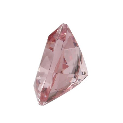 AAA Pink Morganite Cushion 11x11 Faceted 6.36 Cts