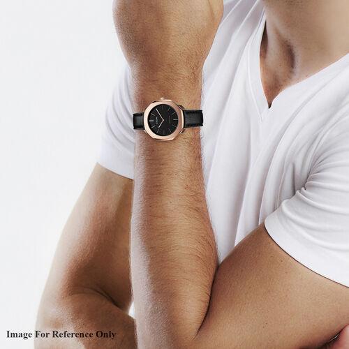 D1 Milano - Watch (36mm) in Italian Leather Black Strap