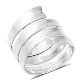 Swirl Ring in Sterling Silver 4.50 Grams