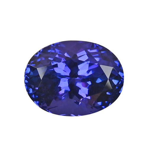 AAAA Tanzanite Oval Faceted (13.10x9.96x7.84mm) 6.95 Ct.
