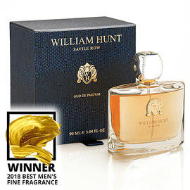 William Hunt: Oud De Parfum - 90ml - 2018 Best Mens Fine Fragrance 2018