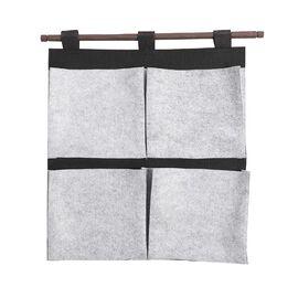 Folding Wall Organiser (Size 35x40cm) in Grey