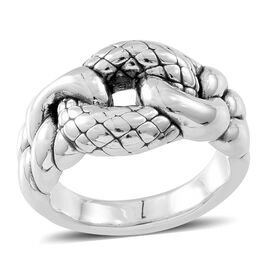 Thai Sterling Silver Ring, Silver wt. 4.3 Gms.