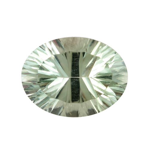 AAA Prasiolite Oval 15.93x12.05x8.53 Concave 8.40 Cts