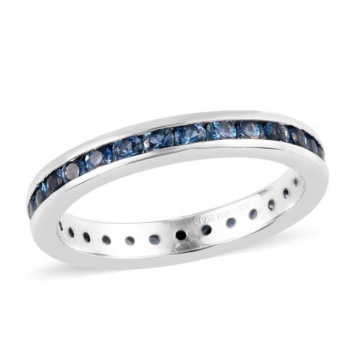 950 Platinum  Santamaria Aquamarine Ring 1.00 ct,  Platinum Wt. 5.25 Gms  1.000  Ct.