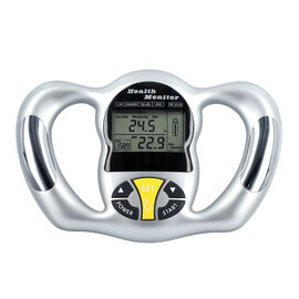Health Monitor - Test Fat Ratio, BMI and Relative Basal Metabolism (23x16cm) - 2xAAA battery Include