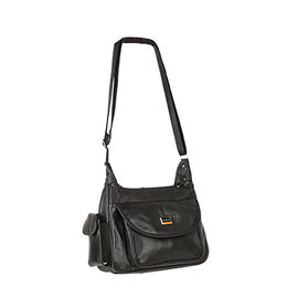 DOD- Close Out Deal - 100% Genuine Leather Shoulder Bag (Size 21x30x10 cm)