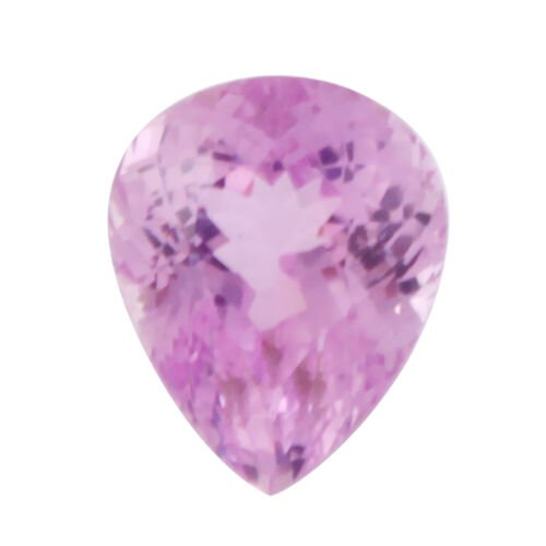 Kunzite (Pear 15x12 Faceted 3A) 12.240 Cts