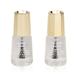 Mavala: Base Coat & Top Coat (Duo Mini Colour 2x5ml)