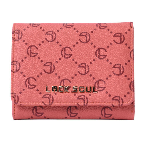 LOCK SOUL Three-Fold RFID Wallet - Orange