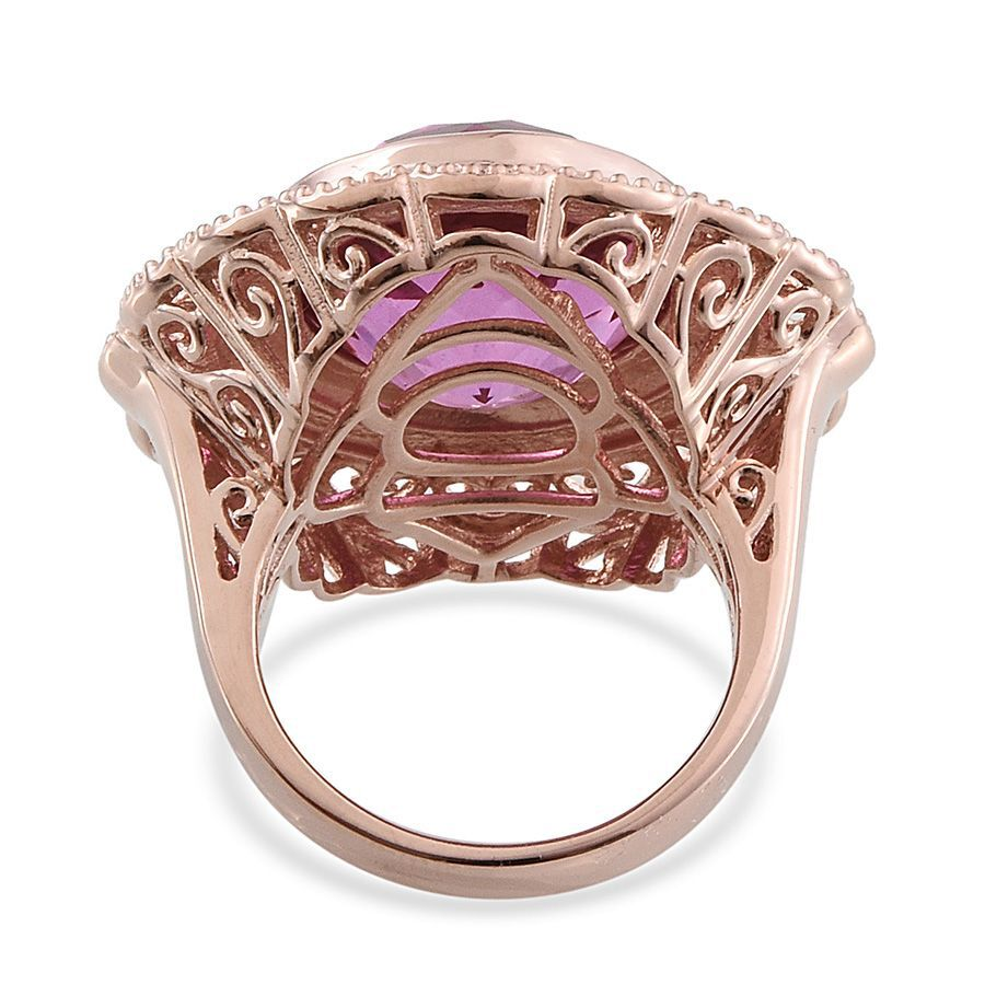 Large Kunzite Ring