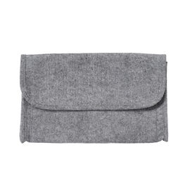 Home Smart Grey Colour Bed Side Organizer (Size 73x37cm)