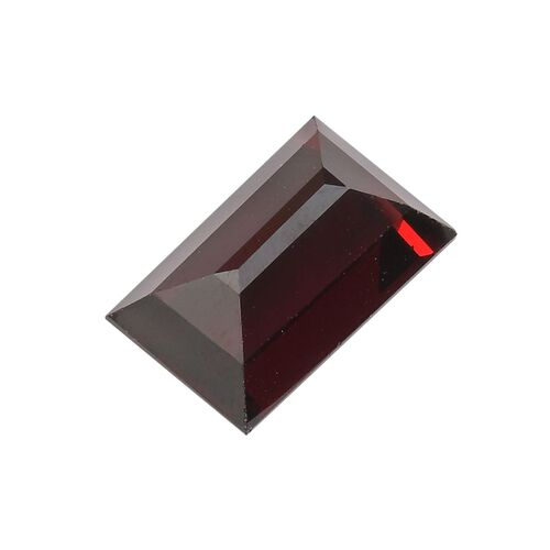 AAA Red Garnet Baguette 16x10 Faceted 11.88 Cts