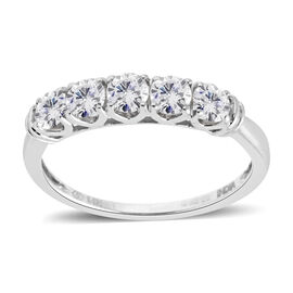 New York Close Out - 14K White Gold Diamond (Rnd) (I1-I2/G-H) Ring 0.750 Ct.