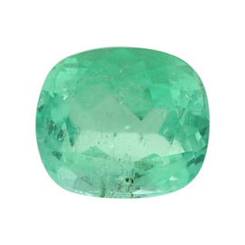 Colombian Emerald Cushion 14x12 Faceted 3A 8.920 Cts
