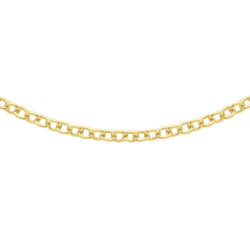 ILIANA Trace Chain in 18K Yellow Gold 16 Inch