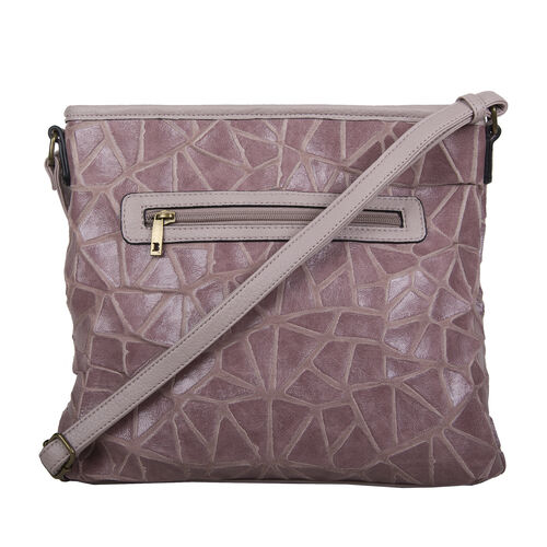 Bulaggi Collection Cracky Crossbody Bag - Lilac