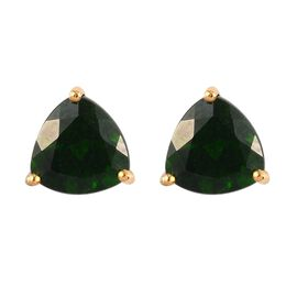 Russian Diopside Earring in 14K Gold Overlay Sterling Silver 0.49 ct  2.000  Ct.