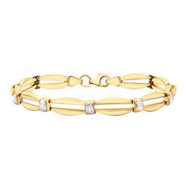 Close Out Deal- 9K Yellow Gold Bracelet (Size - 7.5), Gold wt. 5.50 Gms