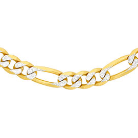 Hatton Garden Close Out 9K Yellow Gold Necklace (Size 18), Gold Wt. 6.1 Gms
