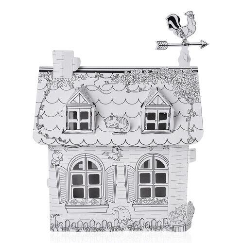 DIY - 3D Cottage Craft with Colours (Size 51X32.5X23.5 Cm)