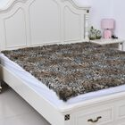 Most Luxurious Faux Fur Leopard Pattern Blanket (Size 200x150 cm)