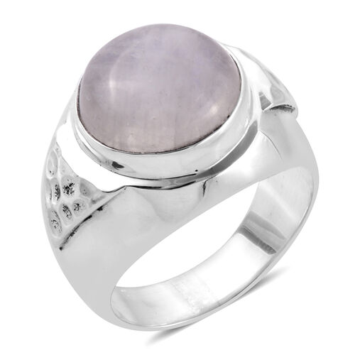 Bali Legacy Collection Rainbow Moonstone (Rnd) Ring in Sterling Silver 11.200 Ct.