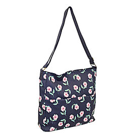 Close Out Deal Water Resistant Floral Print Large Crossbody Handbag ( 34x33x9cm)