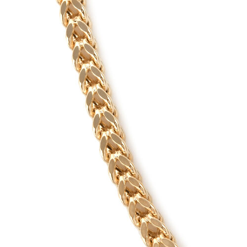 Royal Bali Collection 9K Yellow Gold Foxtail Necklace (Size 22), Gold wt 15.58 Gms.