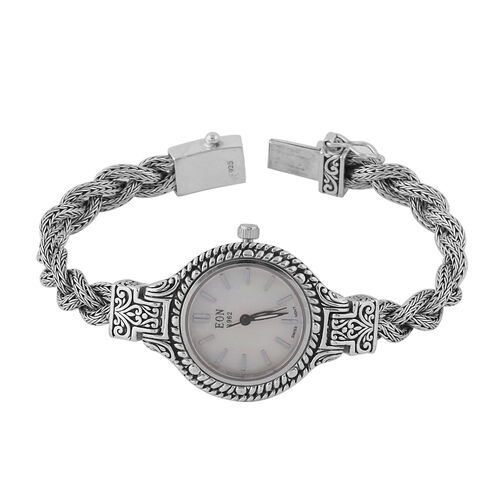 DOD - Royal Bali Collection - EON 1962 Swiss Movement Water Resistant Bracelet Watch (Size 6.75) in