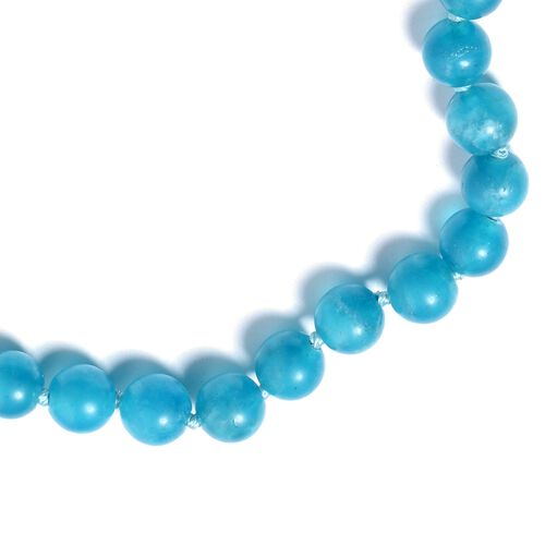 Extremely Rare Colour AAA Russian Amazonite (Rnd 7-8mm) Beads Necklace (Size 30) 271.500 Ct.