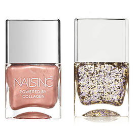 Nails Inc: Chancellor Road - 14ml & Exhibition Road - 14ml