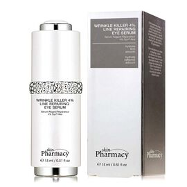 Skin Pharmacy:  Wrinkle Killer 4% Line Repairing Eye Serum - 15ml