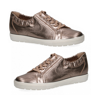 CAPRICE Sneaker Low Shoes - Taupe Metallic