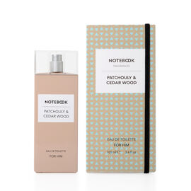 Notebook Fragrances: Patchouli & Cedarwood Eau De Toilette - 100ml