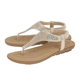 Lotus Orla Flat Toe Post Sandals