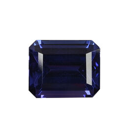 AAAA Tanzanite Octagon 12.66x10.29x7.61 Faceted 9.27 Ct.
