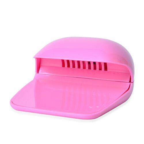 Light Pink Colour Nail Dryer (Size 16X11X4 Cm)